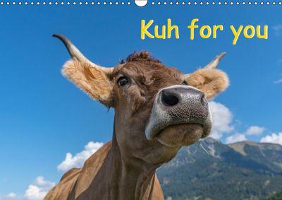Kuh for you (Wandkalender 2019 DIN A3 quer), Miriam Kaina