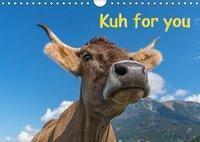 Kuh for you (Wandkalender 2019 DIN A4 quer), Miriam Kaina
