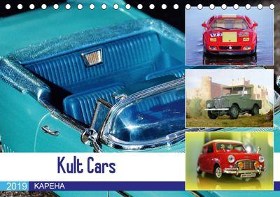 Kult Cars (Tischkalender 2019 DIN A5 quer), KAPEHA u.a.