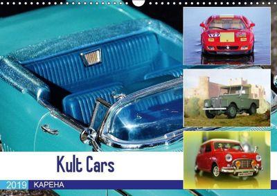 Kult Cars (Wandkalender 2019 DIN A3 quer), KAPEHA u.a.