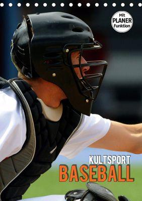 Kultsport Baseball (Tischkalender 2019 DIN A5 hoch), Renate Bleicher