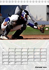 Kultsport Baseball (Tischkalender 2019 DIN A5 hoch) - Produktdetailbild 1
