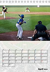 Kultsport Baseball (Tischkalender 2019 DIN A5 hoch) - Produktdetailbild 4