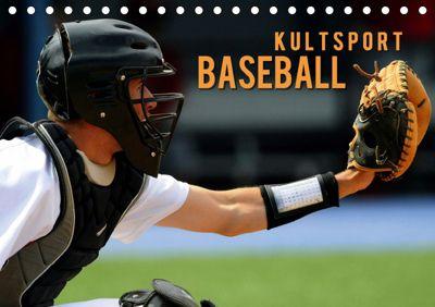Kultsport Baseball (Tischkalender 2019 DIN A5 quer), Renate Bleicher