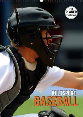 Kultsport Baseball (Wandkalender 2019 DIN A2 hoch), Renate Bleicher