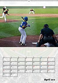 Kultsport Baseball (Wandkalender 2019 DIN A2 hoch) - Produktdetailbild 4
