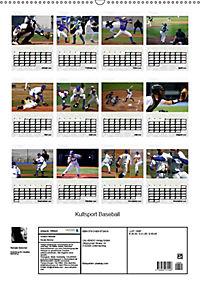 Kultsport Baseball (Wandkalender 2019 DIN A2 hoch) - Produktdetailbild 13