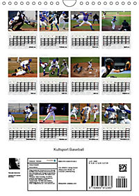 Kultsport Baseball (Wandkalender 2019 DIN A4 hoch) - Produktdetailbild 13