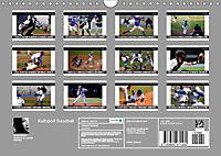 Kultsport Baseball (Wandkalender 2019 DIN A4 quer) - Produktdetailbild 13