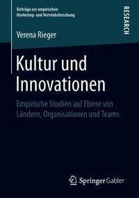 Kultur und Innovationen, Verena Rieger