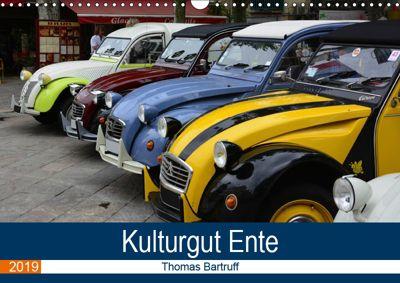 Kulturgut Ente (Wandkalender 2019 DIN A3 quer), Thomas Bartruff