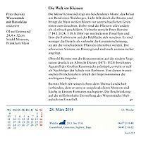 Kunst, Abreißkalender 2014 - Produktdetailbild 10