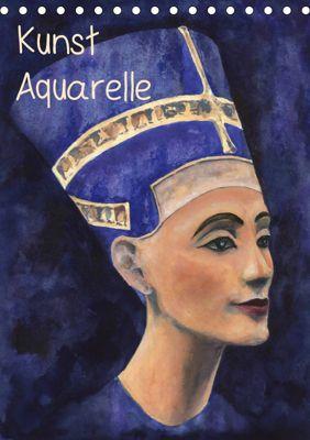 Kunst Aquarelle (Tischkalender 2019 DIN A5 hoch), Jitka Krause