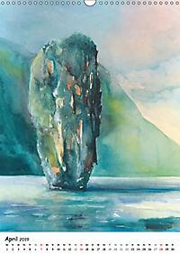 Kunst Aquarelle (Wandkalender 2019 DIN A3 hoch) - Produktdetailbild 4