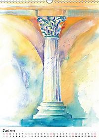 Kunst Aquarelle (Wandkalender 2019 DIN A3 hoch) - Produktdetailbild 6