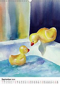 Kunst Aquarelle (Wandkalender 2019 DIN A3 hoch) - Produktdetailbild 9
