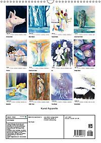 Kunst Aquarelle (Wandkalender 2019 DIN A3 hoch) - Produktdetailbild 13
