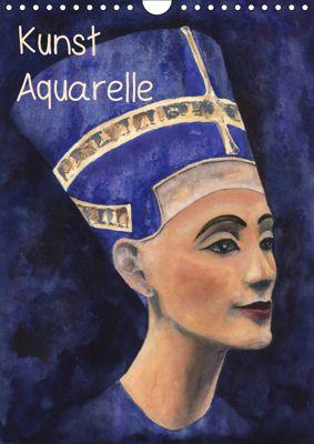Kunst Aquarelle (Wandkalender 2019 DIN A4 hoch), Jitka Krause