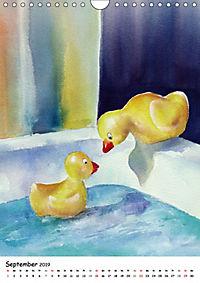 Kunst Aquarelle (Wandkalender 2019 DIN A4 hoch) - Produktdetailbild 9