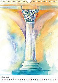 Kunst Aquarelle (Wandkalender 2019 DIN A4 hoch) - Produktdetailbild 6