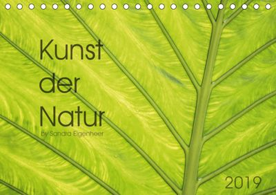 Kunst der Natur (Tischkalender 2019 DIN A5 quer), Sandra Eigenheer