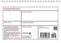 Kunstobjekt Bilderrahmen (Tischkalender 2019 DIN A5 quer) - Produktdetailbild 13