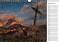 Kunstvolle Landschaften - Gemaltes Südtirol (Wandkalender 2019 DIN A4 quer) - Produktdetailbild 8