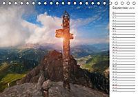 Kunstvolle Landschaften - Gemaltes Südtirol (Tischkalender 2019 DIN A5 quer) - Produktdetailbild 9