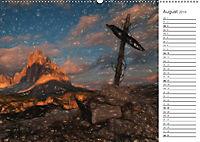 Kunstvolle Landschaften - Gemaltes Südtirol (Wandkalender 2019 DIN A2 quer) - Produktdetailbild 8