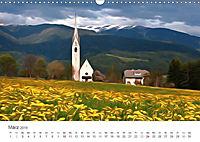 Kunstvolle Landschaften - Verträumte Bilder (Wandkalender 2019 DIN A3 quer) - Produktdetailbild 3