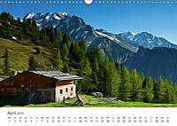 Kunstvolle Landschaften - Verträumte Bilder (Wandkalender 2019 DIN A3 quer) - Produktdetailbild 4