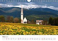 Kunstvolle Landschaften - Verträumte Bilder (Wandkalender 2019 DIN A4 quer) - Produktdetailbild 3