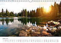 Kunstvolle Landschaften - Verträumte Bilder (Wandkalender 2019 DIN A4 quer) - Produktdetailbild 6