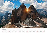 Kunstvolle Landschaften - Verträumte Bilder (Wandkalender 2019 DIN A4 quer) - Produktdetailbild 5