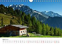 Kunstvolle Landschaften - Verträumte Bilder (Wandkalender 2019 DIN A4 quer) - Produktdetailbild 4