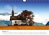 Kunstvolle Landschaften - Verträumte Bilder (Wandkalender 2019 DIN A4 quer) - Produktdetailbild 10