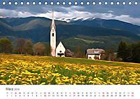 Kunstvolle Landschaften - Verträumte Bilder (Tischkalender 2019 DIN A5 quer) - Produktdetailbild 3