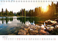 Kunstvolle Landschaften - Verträumte Bilder (Tischkalender 2019 DIN A5 quer) - Produktdetailbild 6