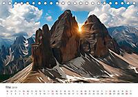 Kunstvolle Landschaften - Verträumte Bilder (Tischkalender 2019 DIN A5 quer) - Produktdetailbild 5