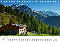 Kunstvolle Landschaften - Verträumte Bilder (Tischkalender 2019 DIN A5 quer) - Produktdetailbild 4