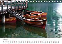Kunstvolle Landschaften - Verträumte Bilder (Tischkalender 2019 DIN A5 quer) - Produktdetailbild 7
