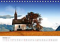 Kunstvolle Landschaften - Verträumte Bilder (Tischkalender 2019 DIN A5 quer) - Produktdetailbild 10