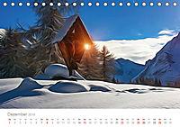 Kunstvolle Landschaften - Verträumte Bilder (Tischkalender 2019 DIN A5 quer) - Produktdetailbild 12