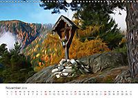 Kunstvolle Landschaften - Verträumte Bilder (Wandkalender 2019 DIN A3 quer) - Produktdetailbild 11