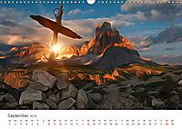 Kunstvolle Landschaften - Verträumte Bilder (Wandkalender 2019 DIN A3 quer) - Produktdetailbild 9