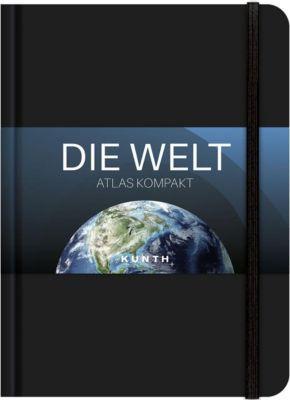 KUNTH Taschenatlas Die Welt - Atlas kompakt, schwarz -  pdf epub