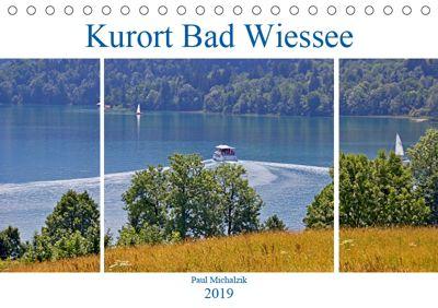 Kurort Bad Wiessee (Tischkalender 2019 DIN A5 quer), Paul Michalzik
