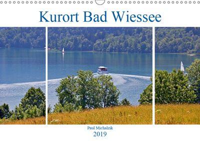 Kurort Bad Wiessee (Wandkalender 2019 DIN A3 quer), Paul Michalzik