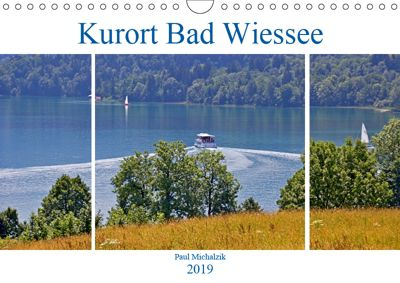 Kurort Bad Wiessee (Wandkalender 2019 DIN A4 quer), Paul Michalzik