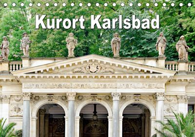 Kurort Karlsbad (Tischkalender 2019 DIN A5 quer), Nina Schwarze